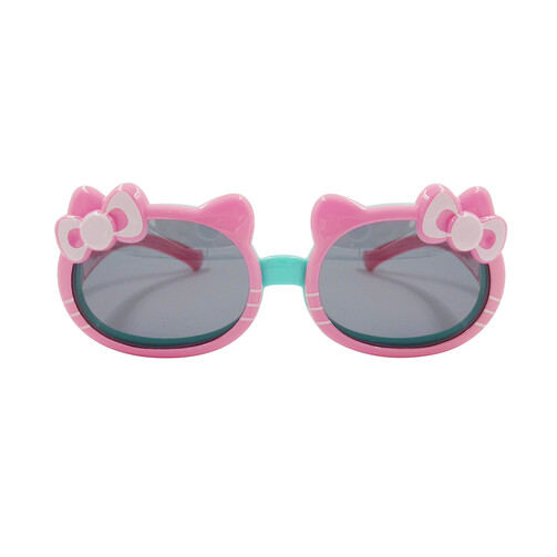 Children Polarized Sunglasses - Pink Kitten