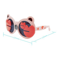 Children Polarized Sunglasses - Pink Crab