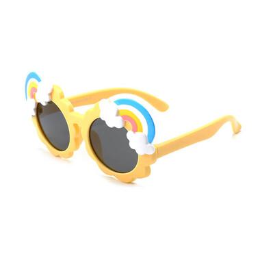 Children Polarized Sunglasses - Yellow Rainbow
