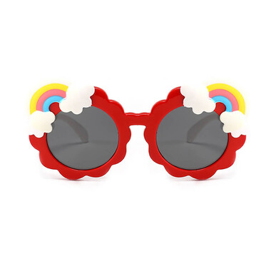 Children Polarized Sunglasses - Red Rainbow
