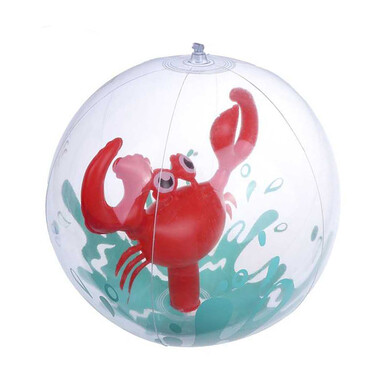 Fun Inflatable 3D Crab Beach Ball