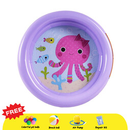INTEX My First Inflatable Pool  - Purple Octopus