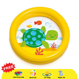 INTEX My First Inflatable Pool  - Yellow Turtle