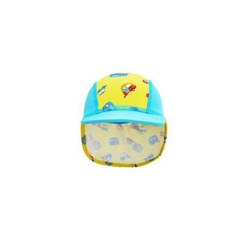 [Summer Paradise] Legionnaire Hat - Light Blue / Camper Van
