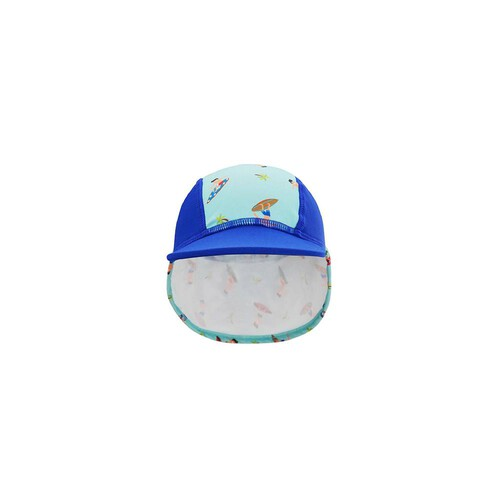 [Summer Paradise] Legionnaire Hat - Navy Blue / Surfer