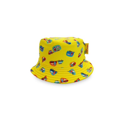 [Summer Paradise] Reversible Bucket Hat / Camper Van