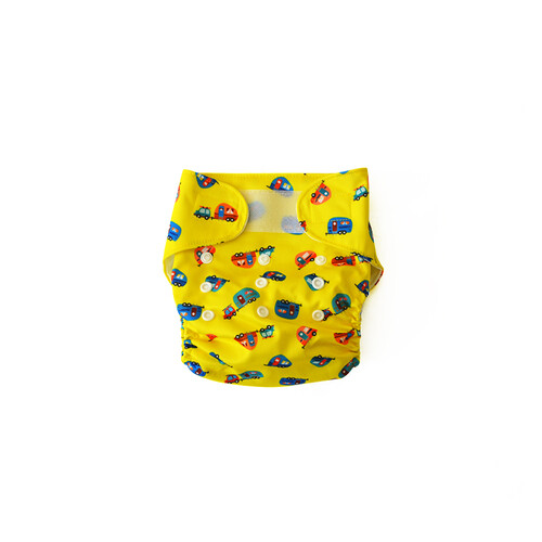 [Summer Paradise] 2-in-1 Reusable Swim Diaper / Cloth Diaper - Camper Van