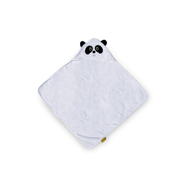 Premium Bamboo Hooded Towel - Panda