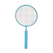 Children Badminton Racket Set with 12 units of Colourful Shuttle Cock