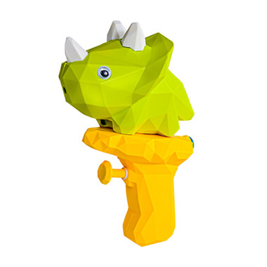 Cute Dino Water Spray Squirting Gun - Green