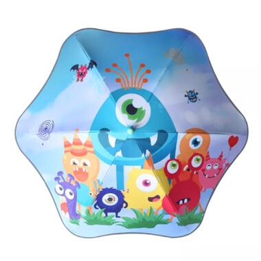 Premium Quality Toddler Anti-Poke Safe Curve Umbrella - Monster