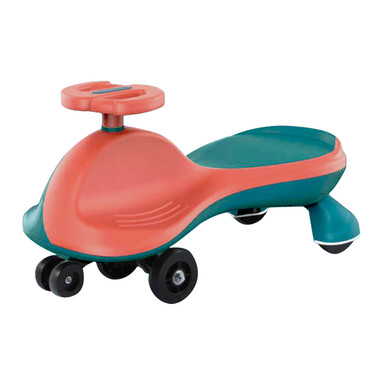 Toddler Fun Yoyo Swing Car - Orange Turquoise